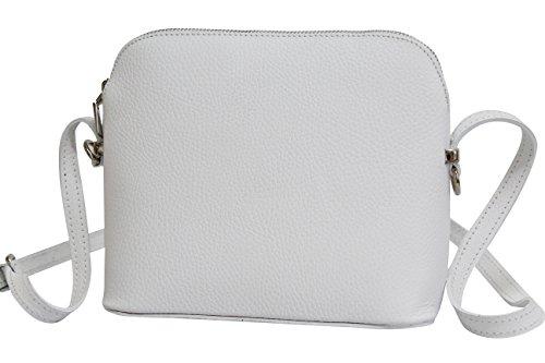 AMBRA Moda, Borsa a spalla donna Bianco bianco
