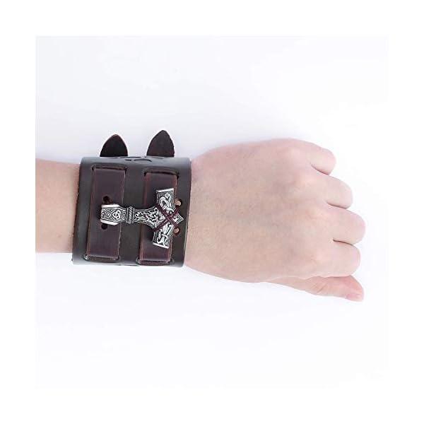 HAQUIL Viking Bracelet for Men 3