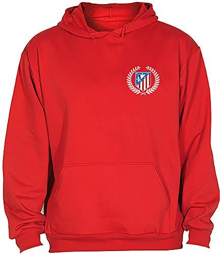 Sudadera Atlético de Madrid Corona Adulto/Niño Camisetas del Atleti Colchoneras Rojiblancos ATM