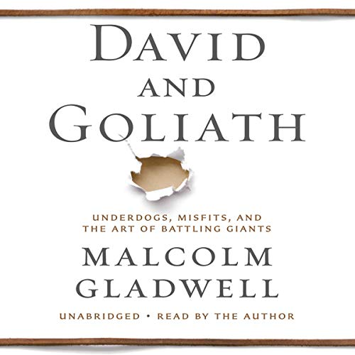 Page de couverture de David and Goliath
