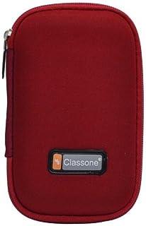 Classone HD2001 2,5'' Uyumlu Hardisk Taşıma Çantası, Kırmızı