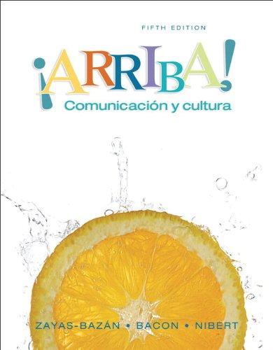 Arriba!: Comunicacion Y Cultura