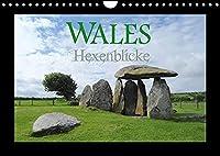 Wales Hexenblicke (Wandkalender 2022 DIN A4 quer): Ein kleiner Blick in das Land der verzauberten Orte und magischen Augenblicke. (Monatskalender, 14 Seiten )