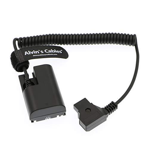 Alvin's Cables Lanparte LP E6 Dummy accu voor D-Tap spiraalkabel voor SmallHD 501 502 702 Monitor Canon 5D4 5DSR 5D2 5D3 6D 60D 7D 7D2 70D 80D
