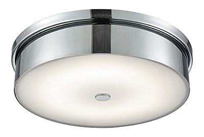 Elk Lighting FML4950-10-15 Close-to-Ceiling-Light-fixtures, 3.8x15x15, Chrome