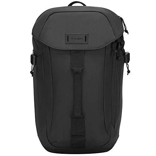 Targus Sol-Lite Max mochila diseñada para una protección duradera, resistente al agua y cómoda para viajes y ajuste cómodo negro 15,6 pulgadas