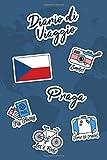 Diario di Viaggio Praga: Diario di viaggio da compilare | 106 pagine, 15,24 cm x 22,86 cm | Per accompagnarvi durante il vostro soggiorno
