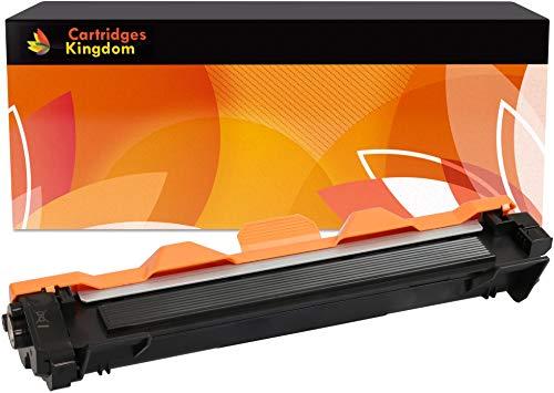 Cartridges Kingdom TN1050 Compatible Cartucho de Tóner para Brother DCP-1510 DCP-1510E DCP-1512 DCP-1512E DCP-1610W DCP-1612W HL-1110 HL-1110E HL-1112 HL-1112E HL-1210W HL-1212W MFC-1810 MFC-1910W