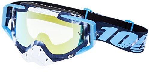 100% Racecraft Tiedye Men's Off-Road/Dirt Bike Motorcycle Goggles Eyewear - Gold/Mirror/One Size