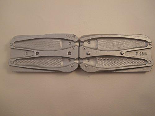 Arenque Pirk/120/150 señuelo molde gramos. Ideal para bacalao, Bass, Pollack