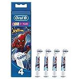Oral-B Kids - Cabezales de repuesto con personajes de Marvel Spider-Man