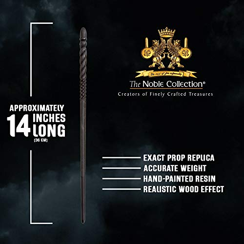 The-Noble-Collection-Ginny-Weasley-Character-Wand-14in-36cm-Harry-Potter-Wand-With-Metal-Name-Tag-Harry-Potter-Film-Set-Movie-Props-Wands