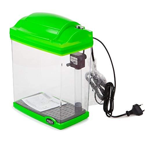 Hailea FC200E Komplett Nanoaquarium mit LED Aquariumset FC200 Garnelen Aquarium (Grün)
