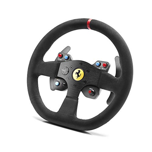 Thrustmaster Ferrari 599XX EVO 30 Alcantara Wheel Add-On compatible avec l'ensemble des bases Thrustmaster T-Series