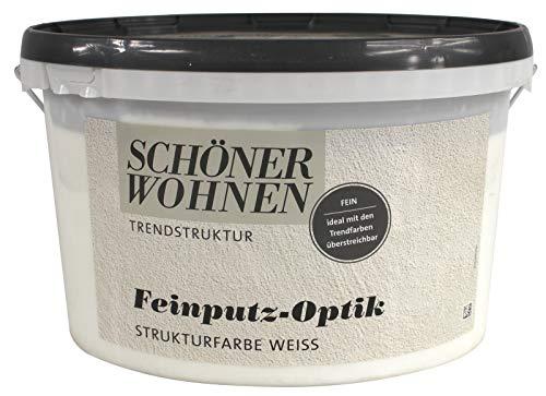 Feinputz-Optik Strukturfarbe fein 16 kg Schöner Wohnen