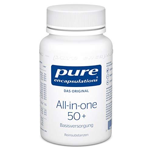 Pure Encapsulations - All-in-one 50+ - Multivitaminpräparat mit Cholin für ein aktives Älterwerden - 60 vegetarische Kapseln