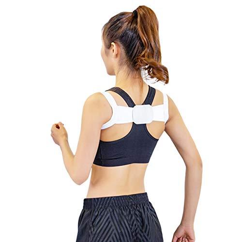 NewIncorrupt Corrector de Postura Ajustable Soporte de Hombro Dolor de Espalda Brace Band Cinturón Unisex Correcta Postura Corporal Cinturón de Espalda