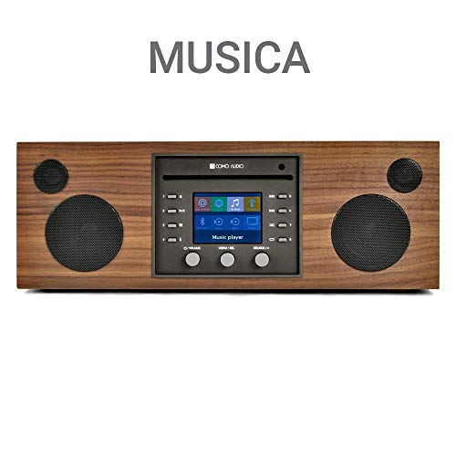 Como Audio: Musica - Wireless Music System with CD Player, Internet Radio, Spotify Connect,...