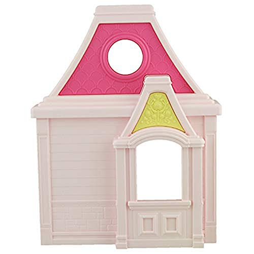 Fisher-Price Piezas de Repuesto para casa de muñecas Familiar BFR48 – Incluye 1 sección Inferior de Ventana Rosa