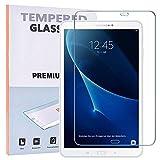 REY 2X Protector de Pantalla para Samsung Galaxy Tab A6 T580 2016 10.1', Cristal Vidrio Templado Premium, Táblet