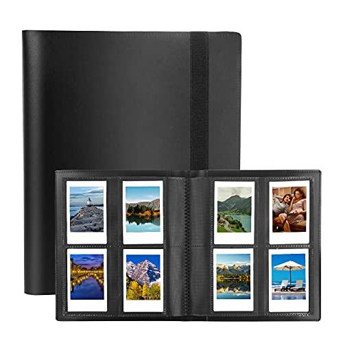192 Pockets Album for Fujifilm Instax Mini Camera, Polaroid Instant Cameras, Photo Albums for Fujifilm Instax Mini 11 90 70 9 8 LiPlay Instant Film Cameras, Polaroid Snap Z2300 PIC-300 Camera (Black)