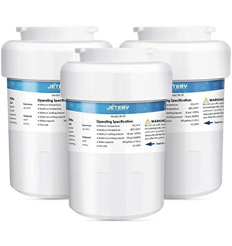 3PACK GE MWF Kühlschrank Wasser Filter Ersatz, jetery GE Kühlschrank-Kartusche kompatibel für GE mwfa, mwfp, GWF, gwfa, gwf06, Kenmore 46–9991