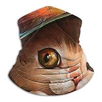 かわいいくそ猫 ネックウォーマー スカーフ マスク 帽子 男女兼用 ファッション 多機能 防寒 暖かい スキー 秋 冬 自転車 アウトドア 通勤