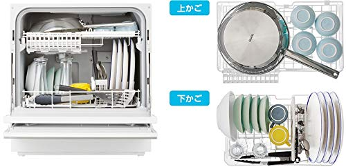 パナソニック食器洗い乾燥機(ホワイト)【食洗機】PanasonicNP-TZ100-W