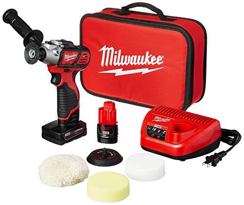 Milwaukee 2438-22X M12 Variable Speed Polisher/Sander – Xc/Cp Kit