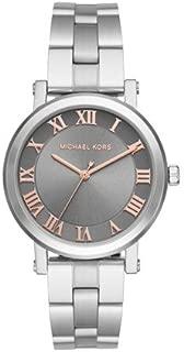 Michael Kors Women's Silvertone Norie Stainless Steel Three-Hand Watch