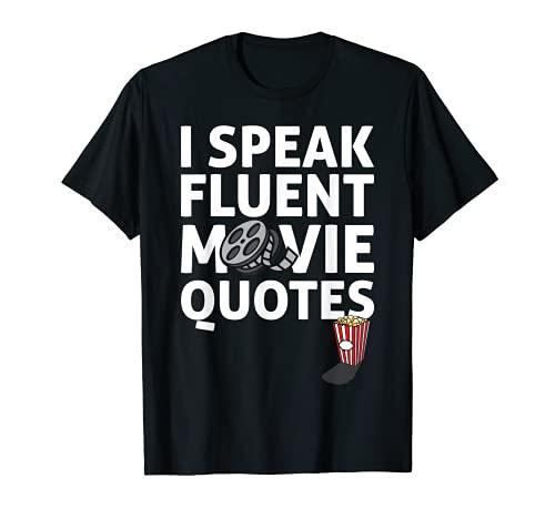 I Speak Fluent Movie Citas Citas Cine Amante Película Tema Eslogan Camiseta