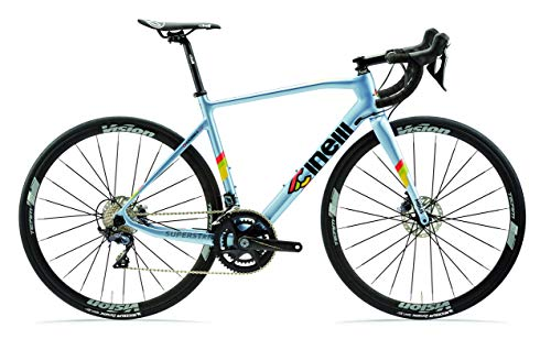 Learn More About Cinelli Superstar Road Disc Bicycle Laser Blue Extra Large