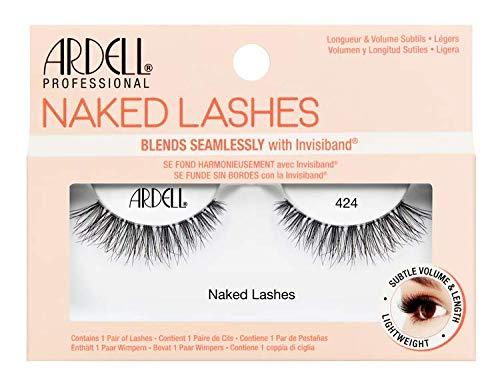Ardell Naked Lashes Echthaarwimpern, das Original für einen unverkennbaren Look (Style 424)