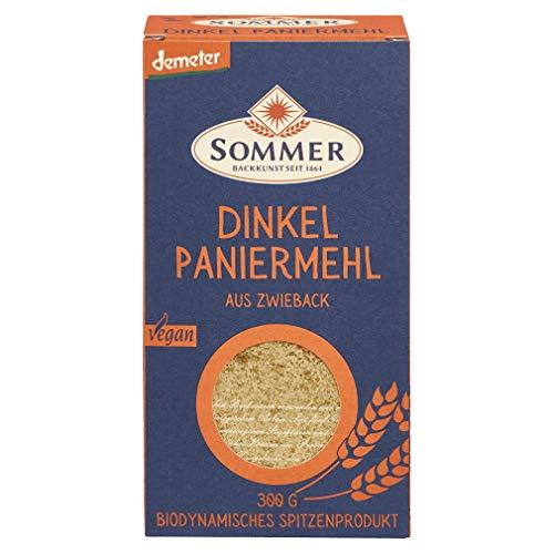 Sommer Bio Dinkel Paniermehl, 300g Packung