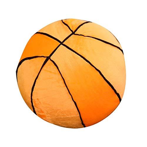 TIANLIYUN Plush toy Creative plush toys pillow doll simulation basketball Cushion (Color : Orange, Size : 28CM)