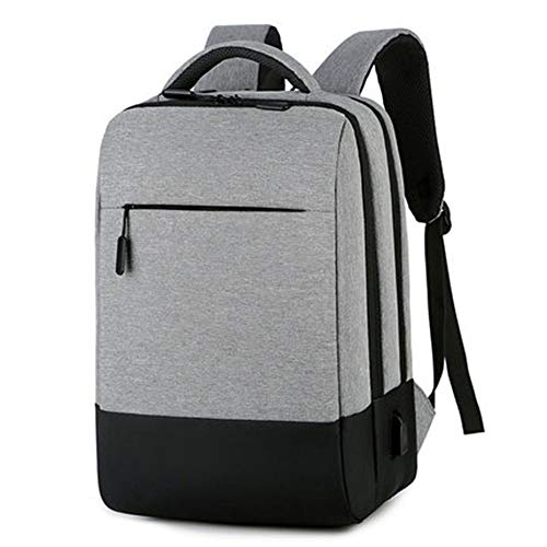 Laptop Backpack Waterproof Anti-Theft Bag with USB Charging Port Fits Slim Durable 15.6 Inch Notebook for Men and Women Multifunctional Travel Casual Business Shopping Daypack