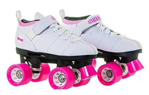 Chicago Bullet Ladies Speed Roller Skate –White Size 8