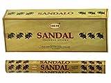 HEM Sandal (Sandalwood) - Box of Six 20 Gram Tubes (240 Gram)