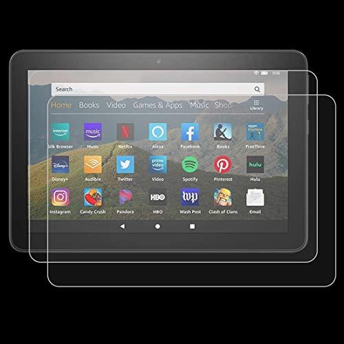 YEYOUCAI 2 unids 9H 0.3mm a prueba de explosiones película de vidrio templado para Amazon Kindle Fire HD 8 Plus 2020
