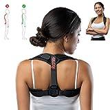 Geradehalter zur Haltungskorrektur | Rückenstütze Rückenbandage | Haltungstrainer für Damen und Herren (gepolstert)