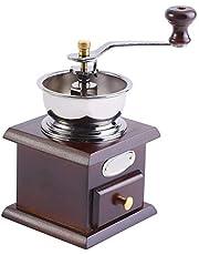 Kaffekvarn, retro manuell kaffekvarn professionell handhållen kaffekvarn för hemmakök kontor.
