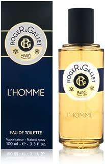 Roger & Gallet L'Homme Eau De Toilette Spray - 100ml/3.3oz