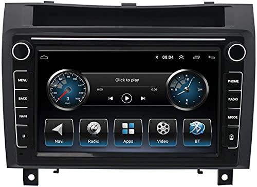 HYCy Radio De Coche para 04-10 Mercedes-Benz SLK Android Navegación Coche Reproductor De Vídeo De Marcha Atrás GPS Incorporado + Posicionamiento Beidou 1 + 16G
