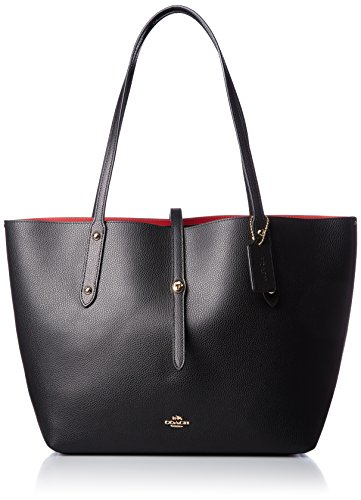 Brand_Coach, Category_Bags, Color_Black, Gender_Women, Season_All Year, Subcategory_Shopping bags