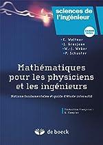 Mathématiques pour physiciens et ingénieurs (1Cédérom) de Klaus Weltner