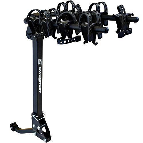 Swagman TRAILHEAD 2 Folding Hitch Mount Bike Rack , Black, Medium
