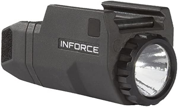 InForce APLc Compact WML Weapon Mounted White Light For Glock Auto Pistol 200 Lumens Black ACG 05 1