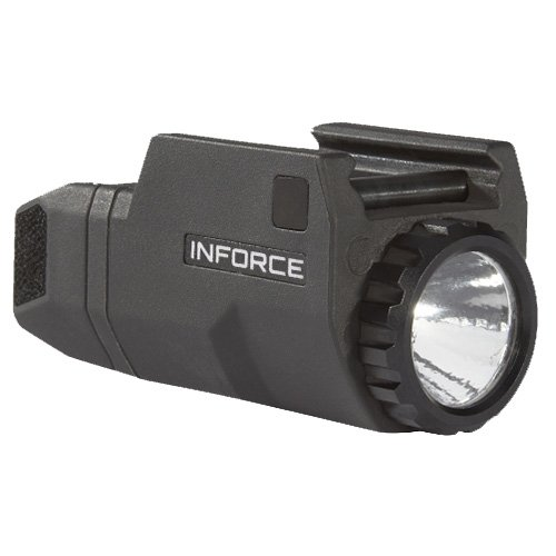 InForce APLc Compact WML Weapon Mounted White Light For Glock Auto Pistol 200 Lumens Black...