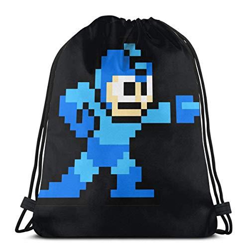 WXM Anime & 8-Bit Megaman bolsa de deporte fitness bolsa de viaje...