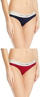Women's 2 Pack Sporty Band Bikini Underwear Panty